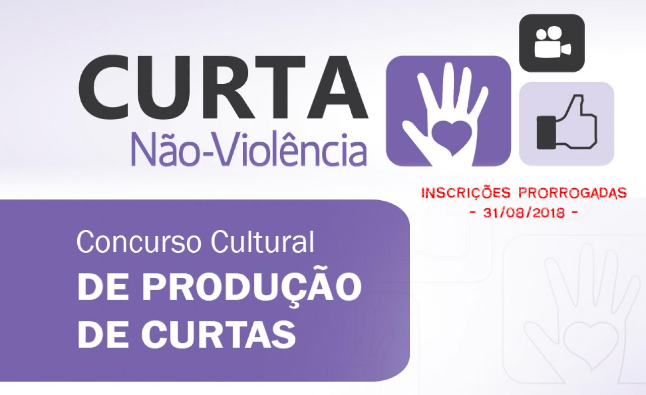 Inscrições prorrogadas - Concurso Cultural de Curtas