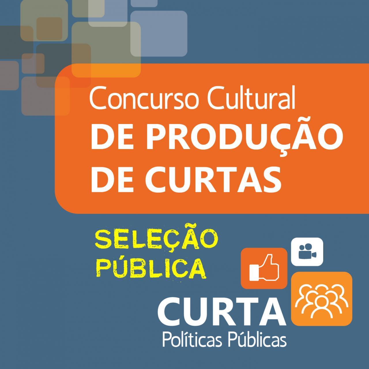 Concurso Cultural de Curtas 2019 - Seleção Pública