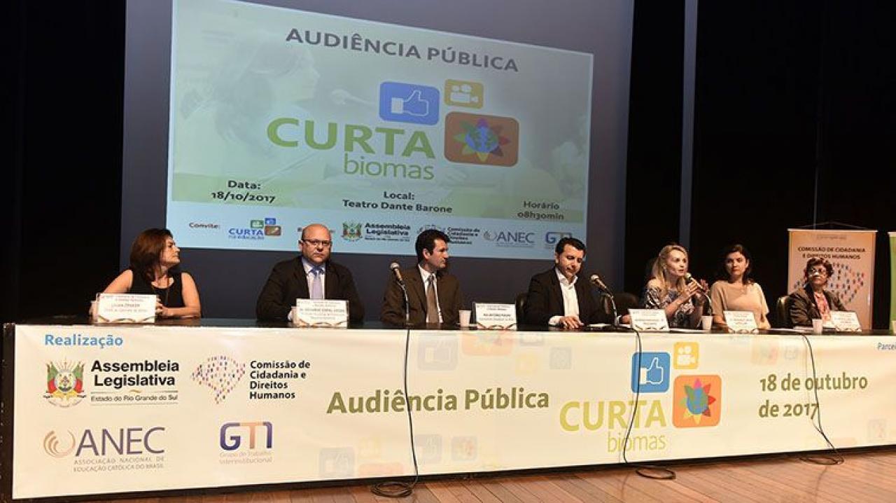 Audiência Pública - Curta Biomas