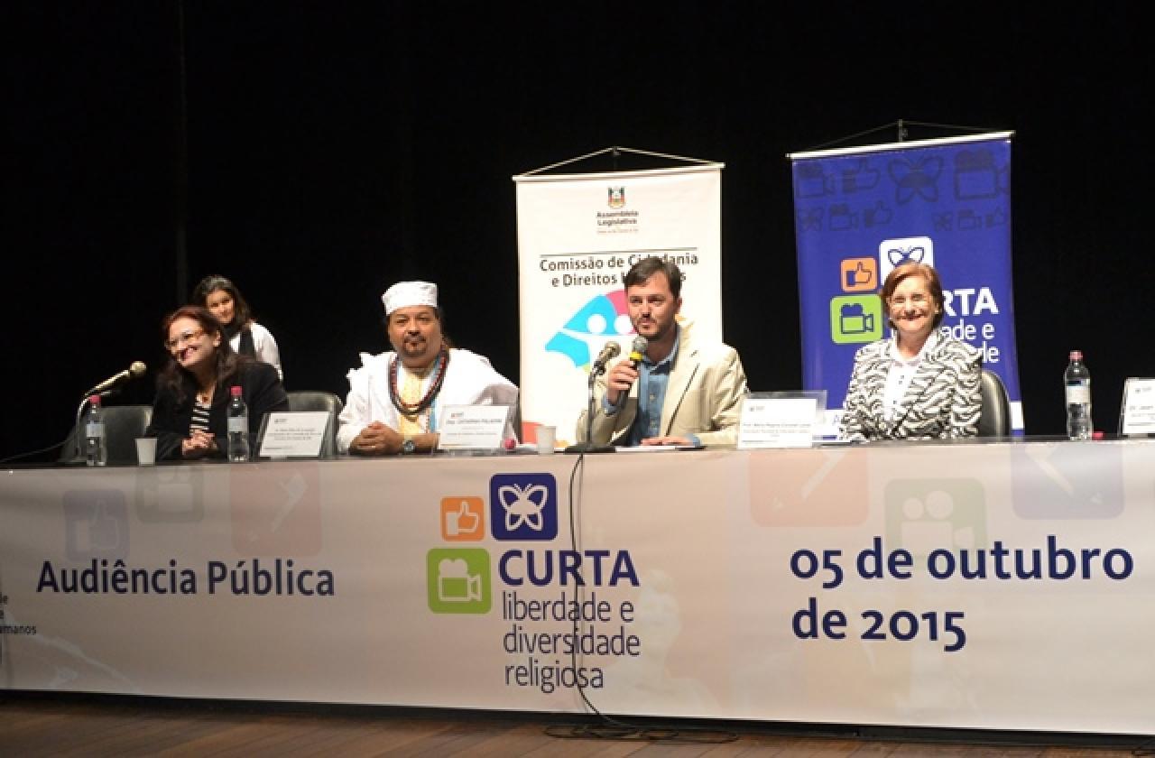 Audiência Pública sobre Liberdade e Diversidade Religiosa