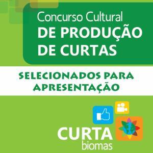 Curta Biomas: trabalhos selecionados para apresentação